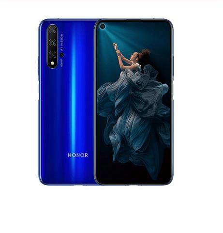 Honor 20 Smartphone 6G 128G North-Eastern European Version Kirin 980 Octa Core 48MP Four Cameras Mobile Phone 6.26'' Supercharge