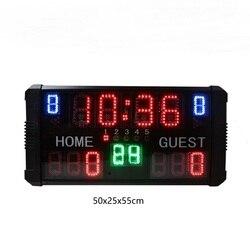 Marcador de competición de baloncesto GANXIN de alto brillo marcador electrónico led digital para la promoción deportiva de diciembre