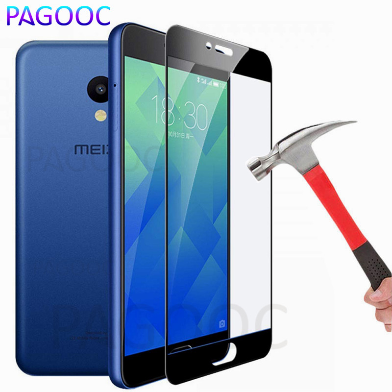 Full Cover Protective Glass On The For Meizu M6 M6S M5S M3S M3E M5C M6T M3 M5 M6 Note Pro 6 6S 7 Tempered Screen Protector Glass