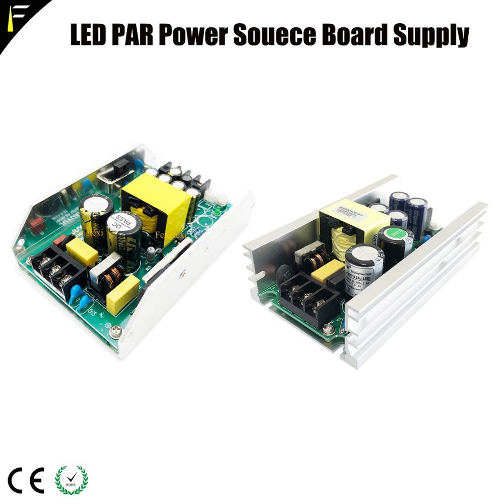 150w180w200w 12v24v36v LED PAR Power Current Source Board Supply Stage Flood Light 54*3w 18*18w COB Par Main Switch Power Board