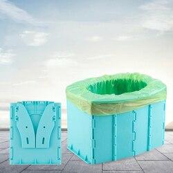 Портативный Детские Туалет чехлы для сидений автомобиля из ткани, отдых на открытом воздухе для детей трусы для приучения к горшку сиденье ...