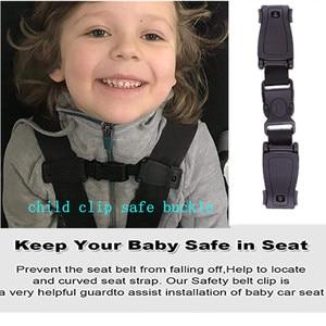Car Seat Chest Harness Clip, Child Safety Seat Belt Buckle Clasp Strap Belt for Kids, Portable Toddler Adjustable Lock Tite Guar