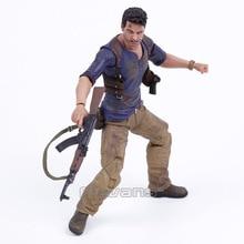 """NECA figura de acción Uncharted 4 DE antirrobo, NATHAN DRAKE, juguete de modelos coleccionables de PVC de 7"""""""