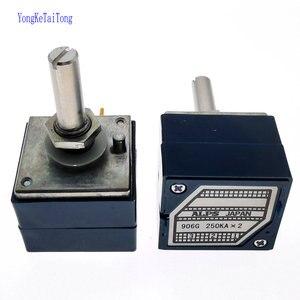 1PCS Japan ALPS RK271 10K 20K 50K 100K 250K 500K RK27112 audio amplifier amp volume Dual-unit Rotary Potentiometer ALPS27 DIP6