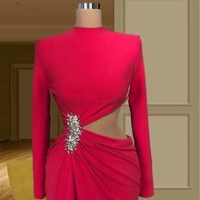 Robe de soiree; Пикантные туфли с красной Знаменитости Вечерние