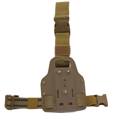 Tactical Combat Drop Leg Holster Platform Adapter Paddle Glock 17 19 M92 1911 USP Gun Case Outdoor Hunting Accessories
