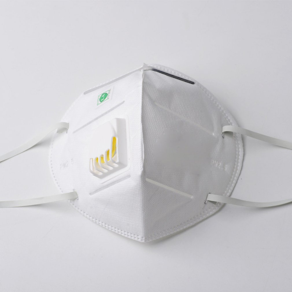 Dust mask with breather valve 9001V (ear-mounted) daily supplies health beauty personal care products Ear-hooked/headgear Mask