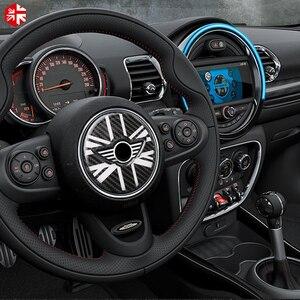 Image 4 - MINI Cooper Countryman için F60 karbon Fiber direksiyon merkezi 3D Sticker çıkartma kapak araba tasarım iç dekorasyon