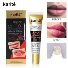 Супер толстая блеск для губ 3D Блестящий макияж бальзам для губ Увлажняющий блеск для губ масло прозрачные силиконовые Босоножки с открытым ...