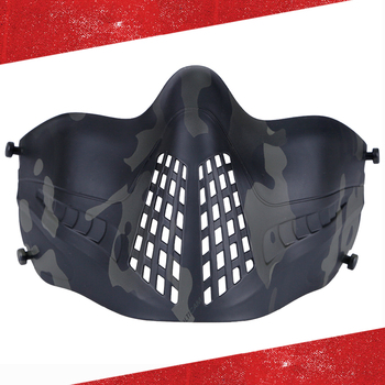 Tactical Mask For Airsoft Paintball Military Hunting Shooting Paintball Masks Outdoor Airsoft Tactical CS Wargame Combat Mask 1000d nylon high quality military tactical mask airsoft shooting mesh mask with ear protection paintball masks for hunting cs