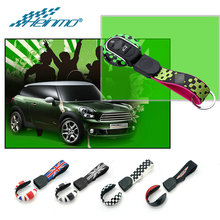 For MINI Cooper S JCW F54 F55 F56 F57 F60 Clubman Countryman Accessories Car Key Cover Rope For MINI F56 Key Case Styling Holder