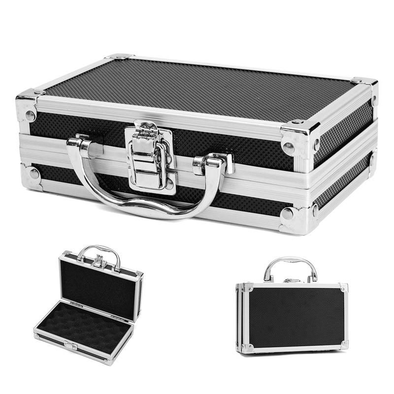 Portable Aluminium Carry Case Tool Box Storage Organizer Travel Tool Holder --M25
