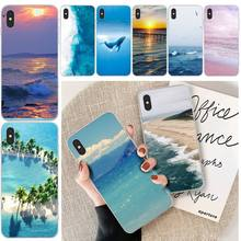 цена на LJHYDFCNB The sea TPU Soft Phone Case Cover For iphone 6 6s plus 7 8 plus X XS XR XS MAX 11 11 pro 11 Pro Max Cover