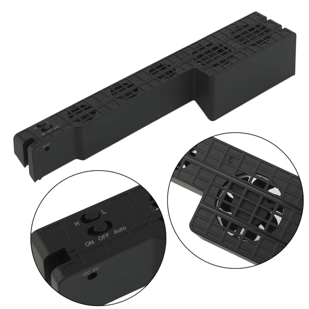 Hot New Promotion Lightweight Cooling Fan Side Mount Cooling Machine for Sony for Playstation 4 Pro Game Console Host