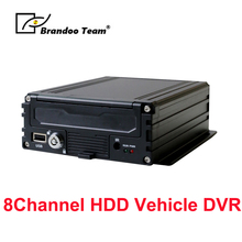 Truck/Bus Mobile Car DVR AHD 720P HDD GPS 4G GPS 8ch MDVR h.264 Truck Camera Recorder