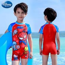 Genuine Disney Children's Swimsuit Boys Baby Swimwear Big Kids One-Piece Sunscreen Swimsuit Kids Wetsuit Swimsuit