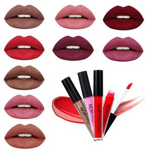 24 Glitter Colors New Waterproof Matte Nude Lipstick Pigment Red Long Lasting Lip Gloss Lot Non-stick Women Beauty Makeup TSLM1