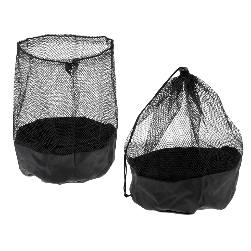 Sports Cones Carry Bag W/ Drawstring Football Training Equipment Team Sports Pack Of 2