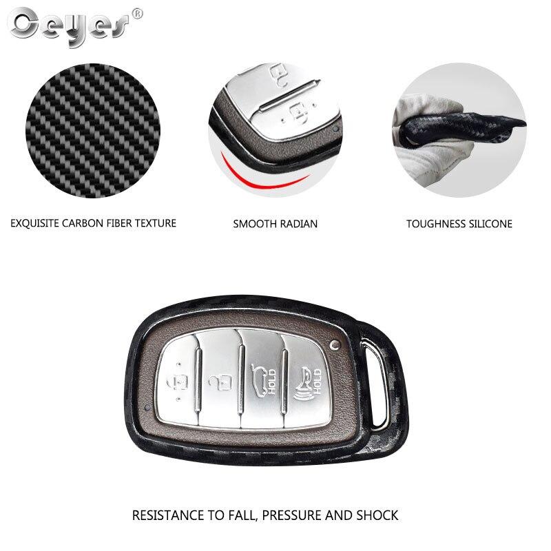 Ceyes для hyundai Elantra Tucson Verna Sonata IX35 IX25 Авто пульт дистанционного ключа наклейки автомобильный смарт-ключ Оболочка Чехол для автомобиля Стайлинг