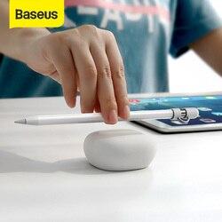 Baseus Настольный футляр для Apple Pencil, волшебная палочка, мягкий силиконовый чехол, защита от потери, держатель для iPad Pro Pencil Touch Pen