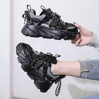 Women Shoes Casual Dad Chunky Sneakers Luxury Shoes Women Designer Basket Femme Scarpe Donna Tenis Vulcanized Shoes 2019 Fashion