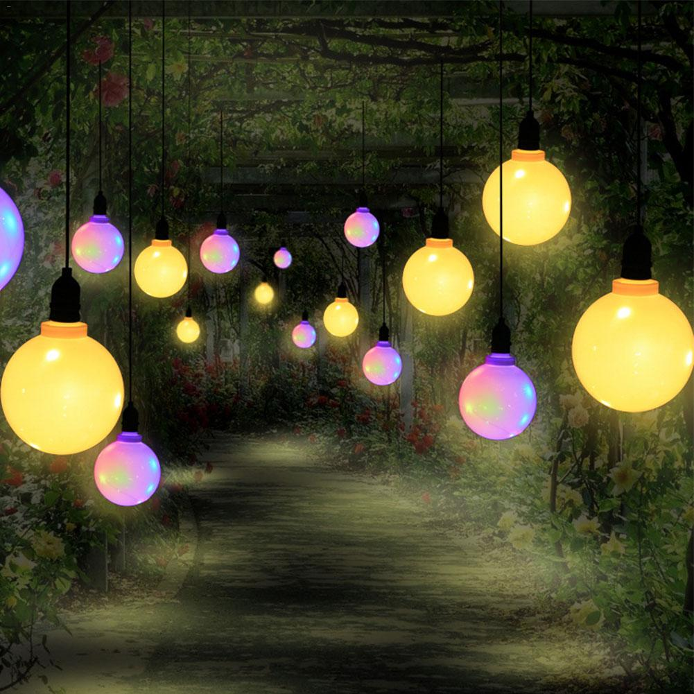 Usb LED Globe String Light Copper Wire Bulb Light Bars Bedrooms Hotels Hanging Lamp Outdoor Waterproof Garden Yard Decoration image