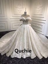 Imagem real vestidos de casamento de luxo fora do ombro rendas até corpete dubai árabe abita da sposa vestido de noiva