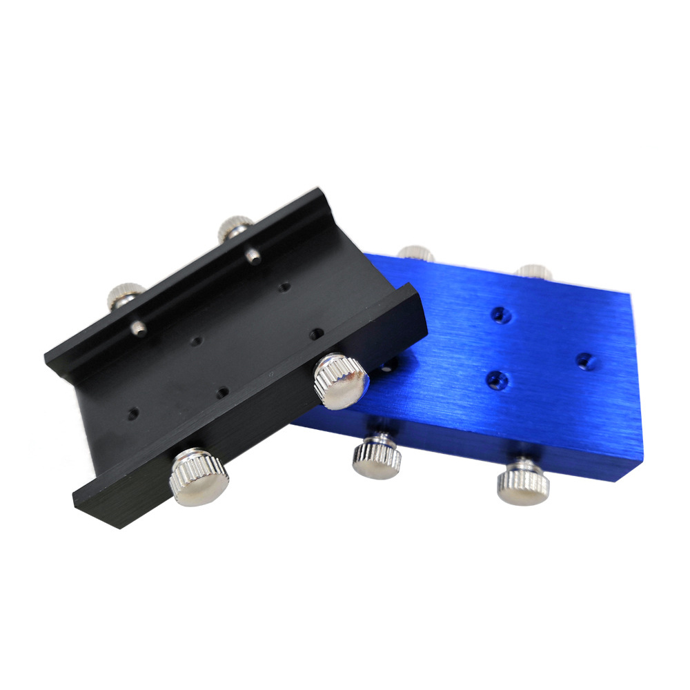 Module Laser support de montage support Laser dissipateur thermique adapté pour Module Laser de taille 33mm Mini CNC Machines de gravure Laser pièces