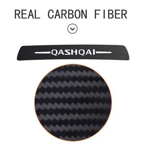 Image 4 - Car Stickers High Brake Light Decoration Black Carbon Fiber Decals For Nissan 2015 2016 2017 2018 Qashqai J11 Accessories