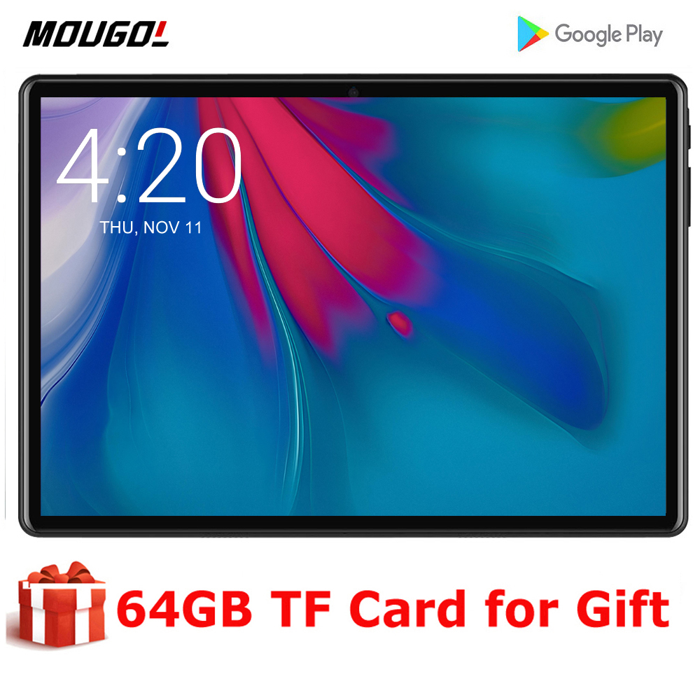 Fast Shipping Android 9.0 OS 10 Inch Tablet 3G Phablet 2GB RAM 32GB ROM 1280x800 WiFi Bluetooth GPS Tablet 10.1 +Gifts