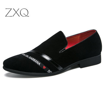 Brand Style Men Loafers Exquisite Letter Embroidery Smoking Dress Shoes Elegant Shoes For Man Fashion Casual Men's Flats цена 2017