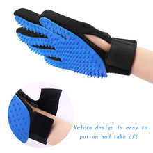 New Pet Brush Glove Comb Cats Grooming Pet Shedding Salon Gloves Comb Hand Shaped Glove Pet Clean Comb For Dogs Cats right hand