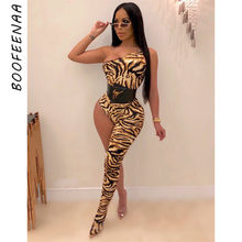 BOOFEENAA หนึ่งไหล่ขา Bodycon Jumpsuit Kyliejenner ชุดฤดูใบไม้ร่วง 2019 Going Out One Piece Romper ผู้หญิง Sexy Club Jumpsuits(China)