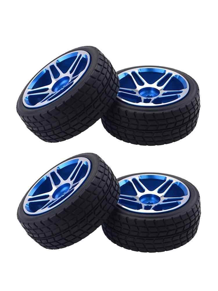 Brede Bearing Aluminium Velgen RC Wiel Banden 1/10 Drift Auto/On-road Auto/Tourning Auto Wielen banden Voor Redcates, HPIly