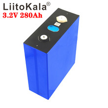 1PCS LiitoKala 3.2v 280Ah lifepo4 lithium battery 3.2v Lithium iron phosphate battery for DIY battery pack inverter vehicle RV