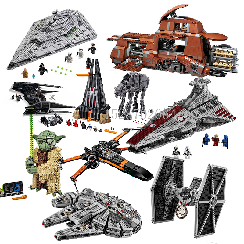 75255IN Stock Compatible Lepining Star Wars Series 7662 05069 The Trade Federation MTT Building Blocks Bricks Toys 75249 75256