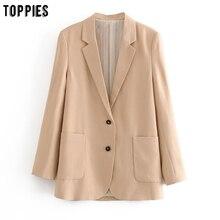 toppies 2020 spring blazers women formal suit jacket coat of