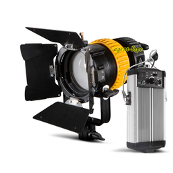 80W LED reflektor z możliwością ustawiania ostrości ściemniania CRI93 światło dzienne 5600K + 3200K filtr + V-do montażu na