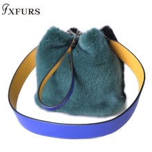 New Arrival Women Real Mink Fur Handbag Luxry Real Fur Flap Ladies Crossbody Bags Female Bags For Lady Fur Shoulder Bag а н радищев избранное