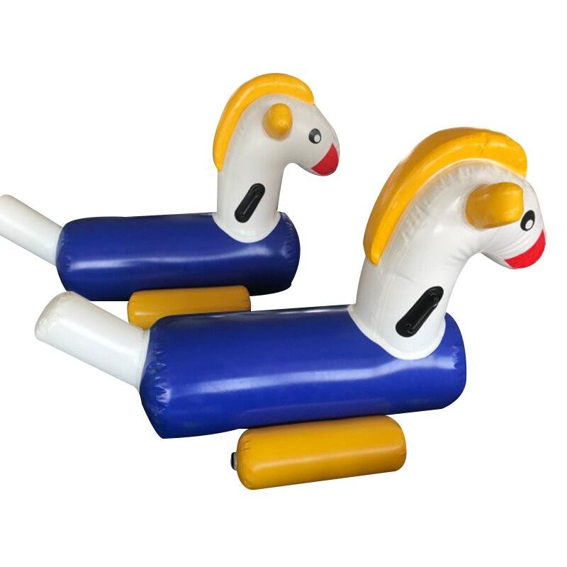 Надувная Детская игрушка для верховой езды, забавная игрушка, игрушки для животных, детский игровой стульчик лошадка, оборудование для парк...