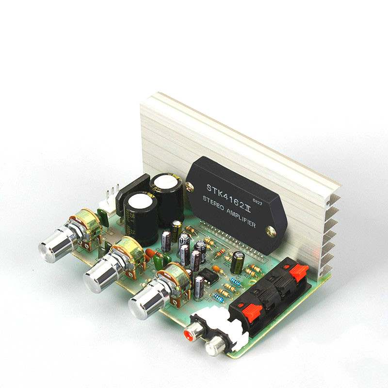 SOTAMIA Stereo Power Audio Board Amp 50W*2 Amplificador STK4102 4122 4132 4162 4182 Sound Amplifiers Speaker Home Theater DIY