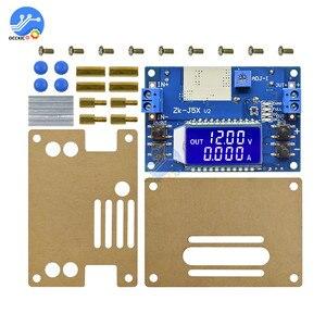 Image 3 - 5A 75W moduł ładowarki CC CV DC 6.5 36V do 1.2 32V 5A 75W napięcie zasilania przetwornica ładowania akumulatora wyświetlacz LCD z etui