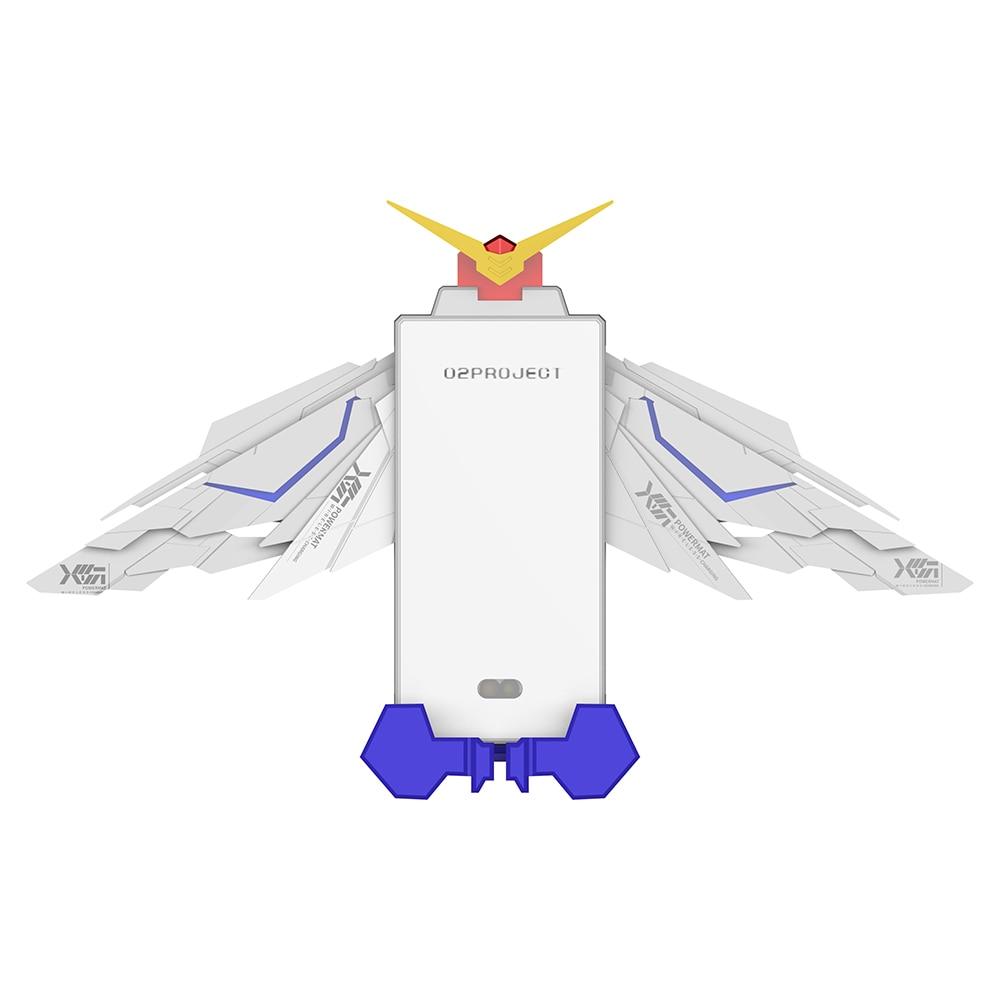 Automatic Infrared Sensor Style Car Use Gundam Wireless Charging Mount Holder With LED Light For Gundam