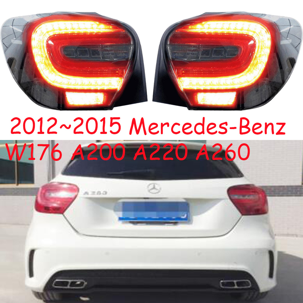 2012~2015year Tail Light For Mercedes Benz W176 Taillight A200 A260 A220 Car Accessories LED DRL Taillamp For W176 Fog Light