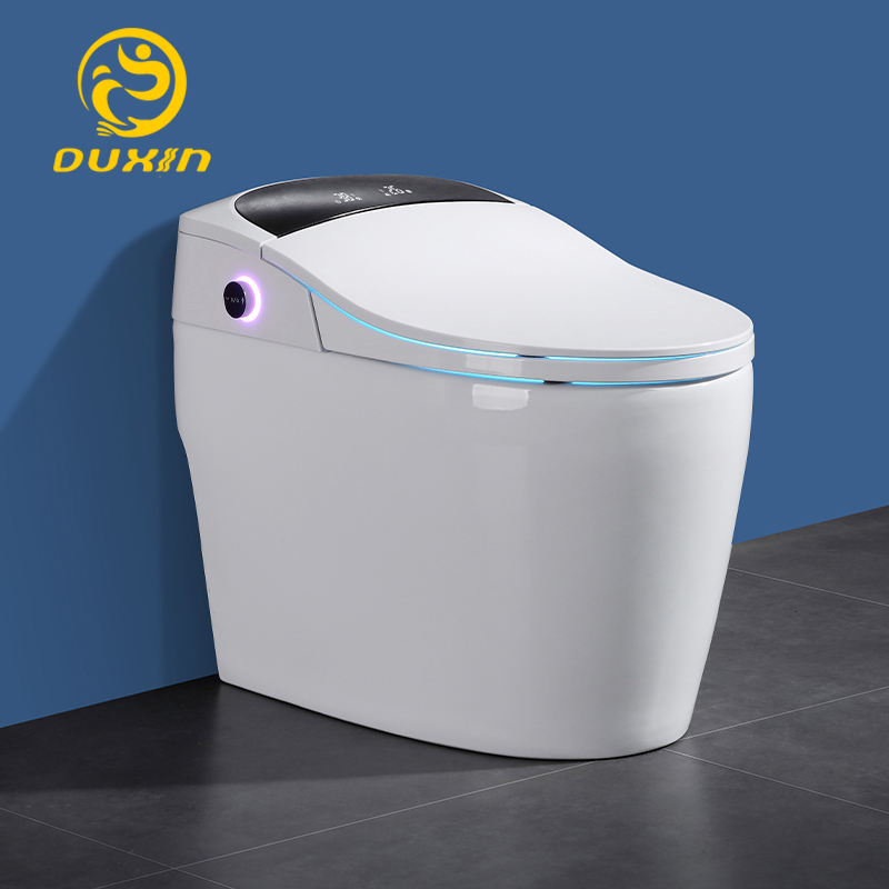 Smart toilet WC One piece toilet intelligent 110V Heated seats Wash and dry No water pressurefoot-feel flush limit 3