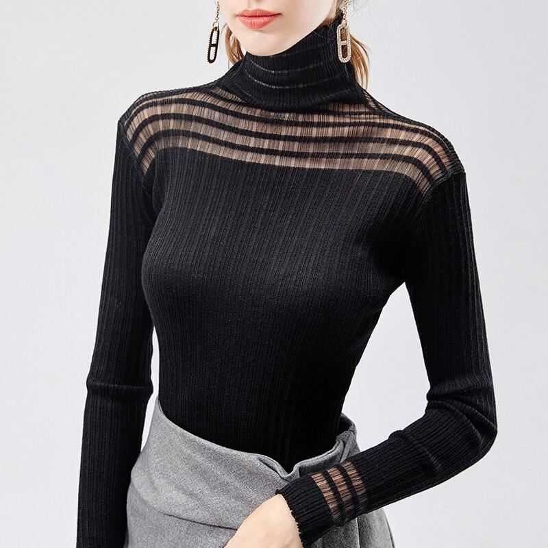 BallroomLatin DanceShirts Long Sleeve Knitted Fabric Top Adults Flamenco Modern Dancing Clothes Spanish Show Wear Lady DN4397