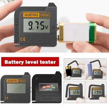 Battery Capacity Tester -168 PRO High-precision Lithium Battery Capacity Tester Digital Display Battery Measuring Instrument