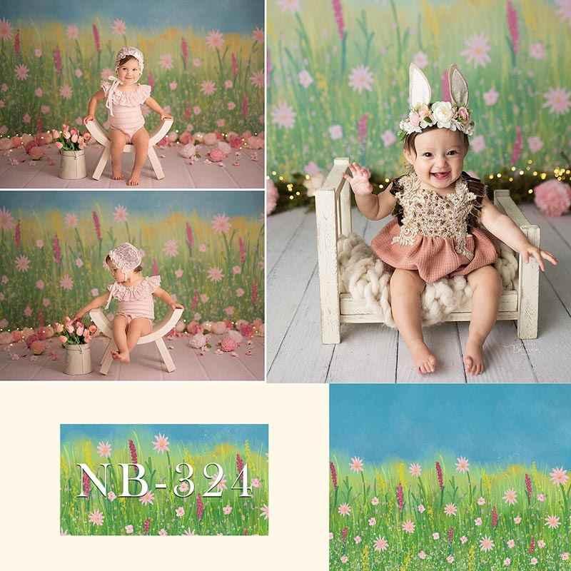 Kwiaty motyw urodziny dzieci fotografia tło kwiatowy noworodka portret Baby Shower tło Photocall rekwizyty sesja zdjęciowa
