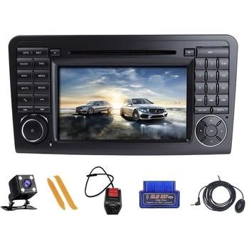 ZLTOOPAI Авторадио GPS Navi для Mercedes-Benz GL ML CLASS W164 X164 ML450 ML500 GL320 GL450 автомобильный мультимедийный плеер DVD CD