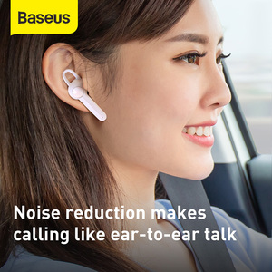 Image 2 - Baseus Bluetooth Earphone Magnetic Wireless Charging Bluetooth Headset Single Handsfree With Microphone Car Business USB Hook